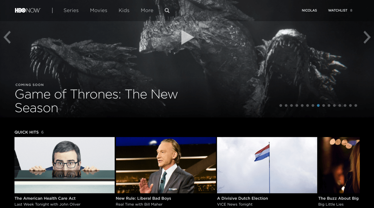 HBO Now — 30-day free trial