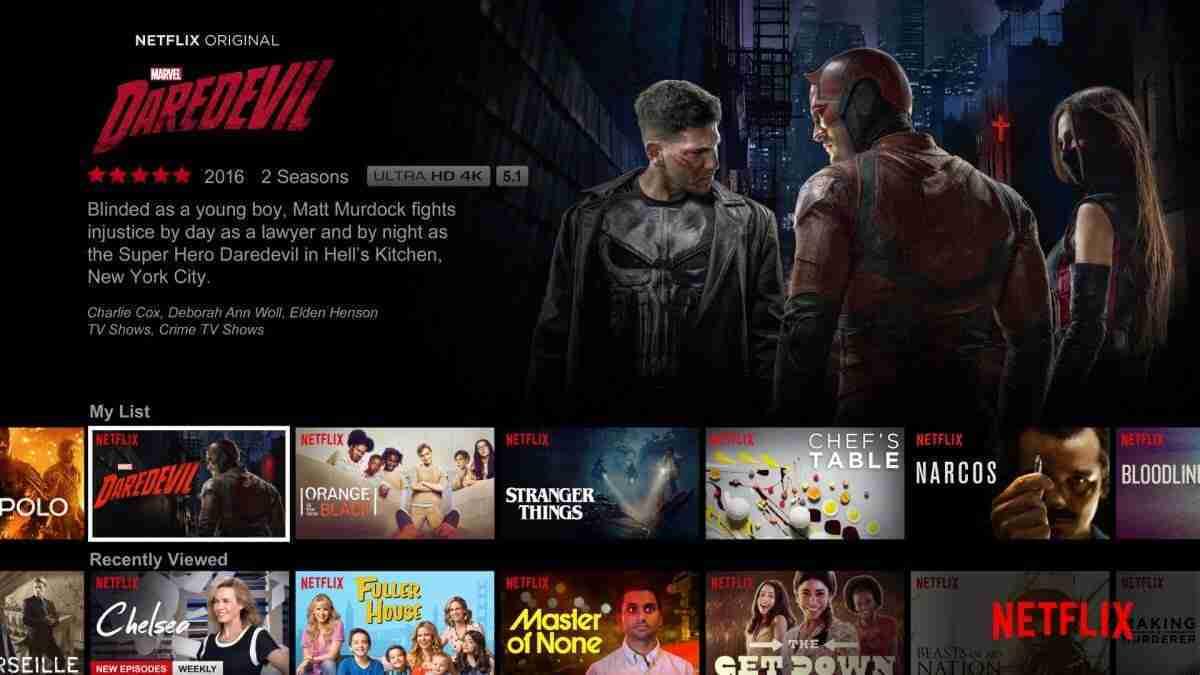 Netflix — 30-day trial